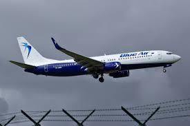 blue air avion