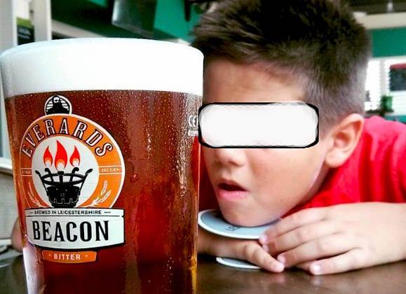 amenzi alcool copii