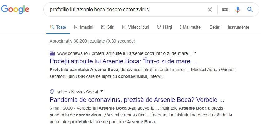top cautari google in romania